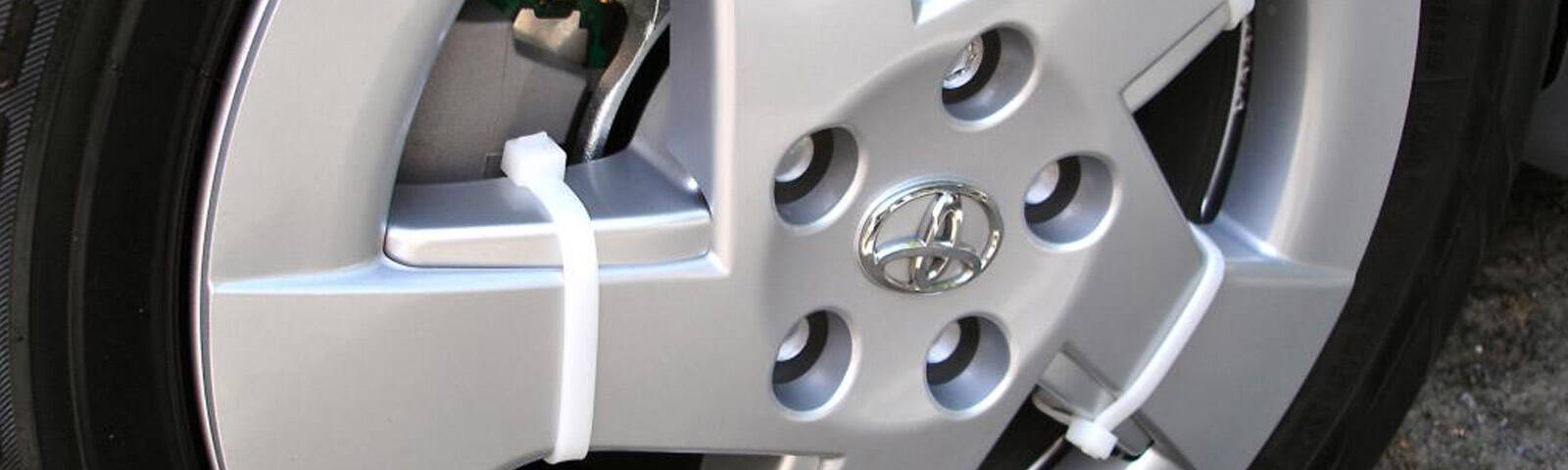 What are the best cable ties to use as wheel trims?