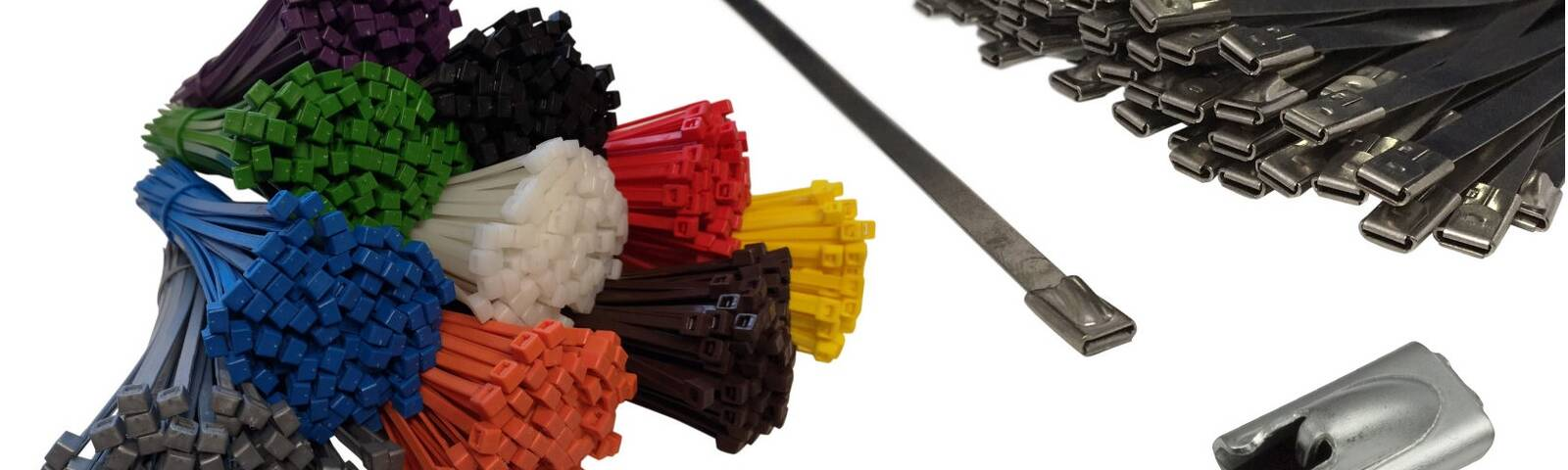 Plastic Vs metal cable ties - which is best?