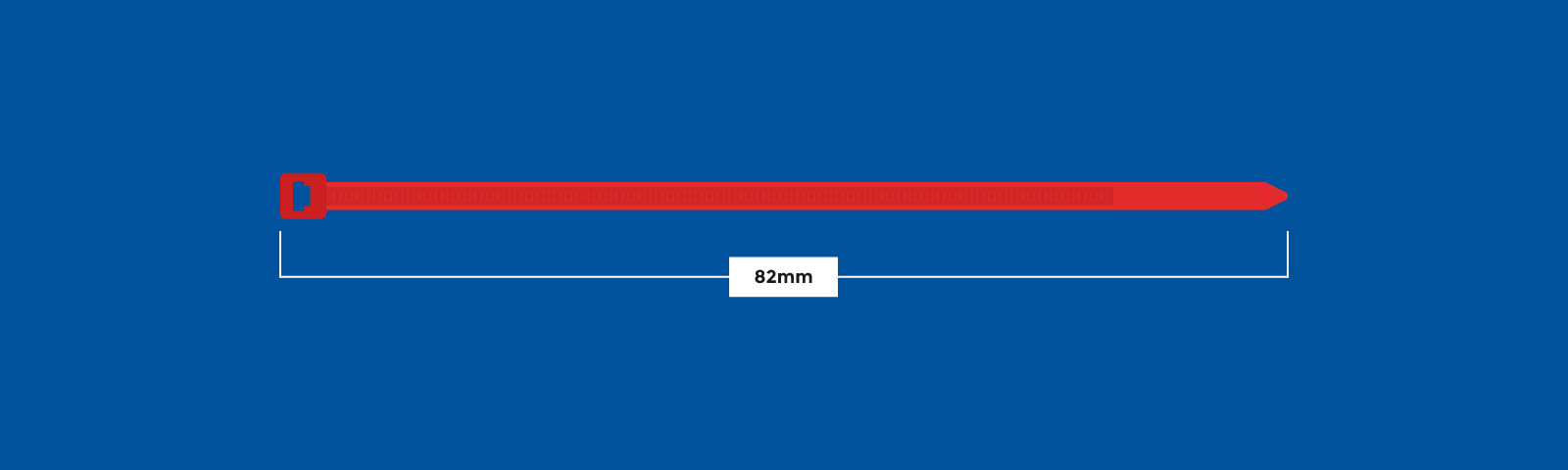 Cable tie size guide