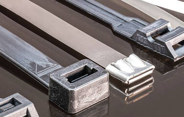 How many types of cable ties are there?