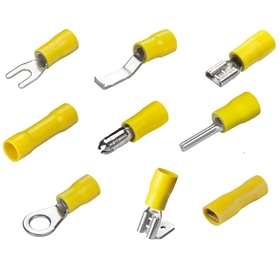Crimp Terminals - Yellow
